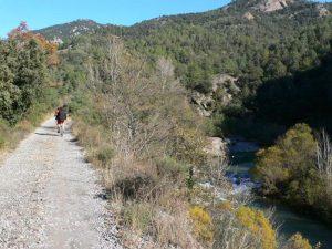 Paralelos al río Llobregat en bici