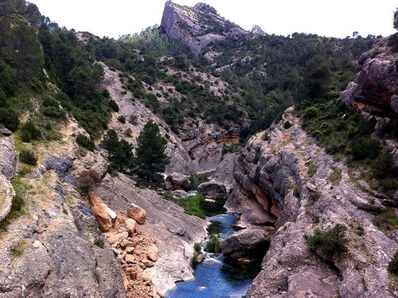 Río Canaletes via verde de la Terra Alta
