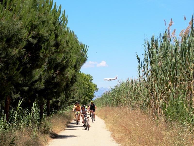 Ruta en bici por el Delta del Llobregat