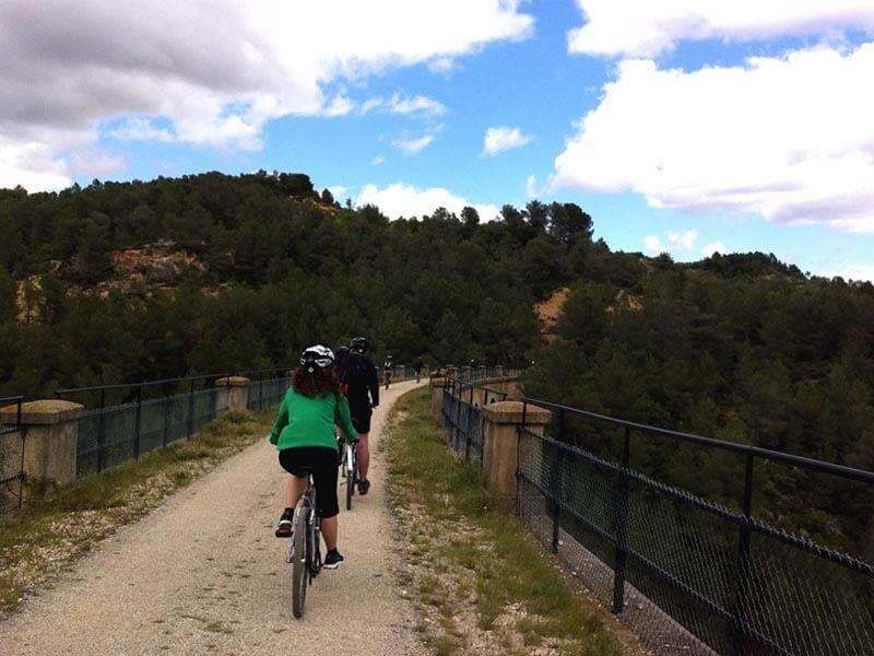 Viaducto via verde de la Terra Alta