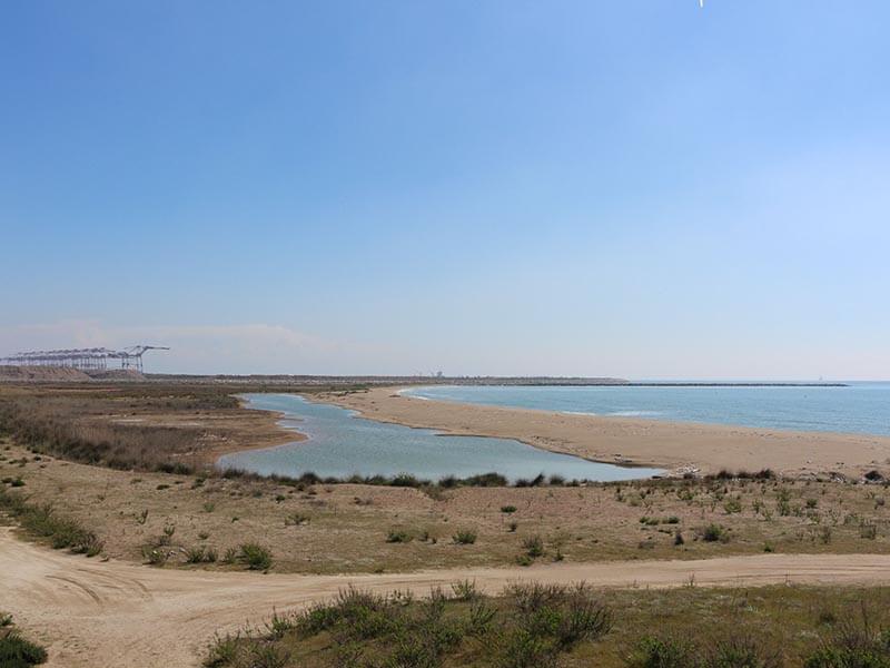 Vistas desembocadura del Prat