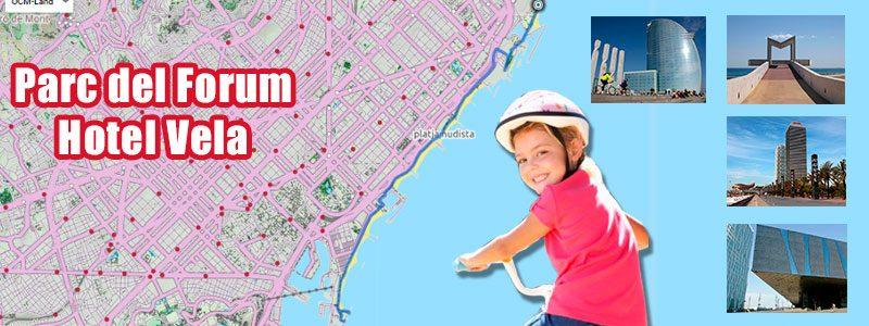 Ruta en bici con niños por Barcelona - Forum - Hotel Vela
