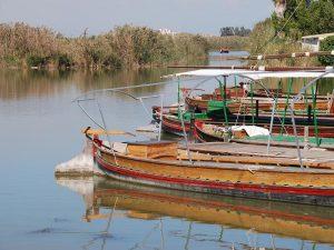 Barcas cerca de el Palmar