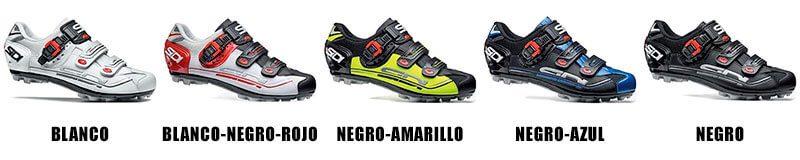 Colores Zapatillas MTB Sidi Eagle 7