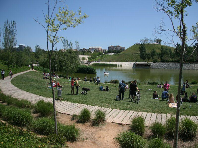 Parque Cabecera - Río Turia en bici