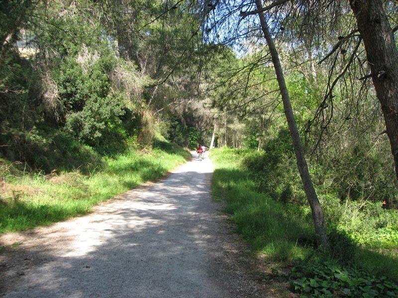 Parque Fluvial del Turia - Zona de la Presa