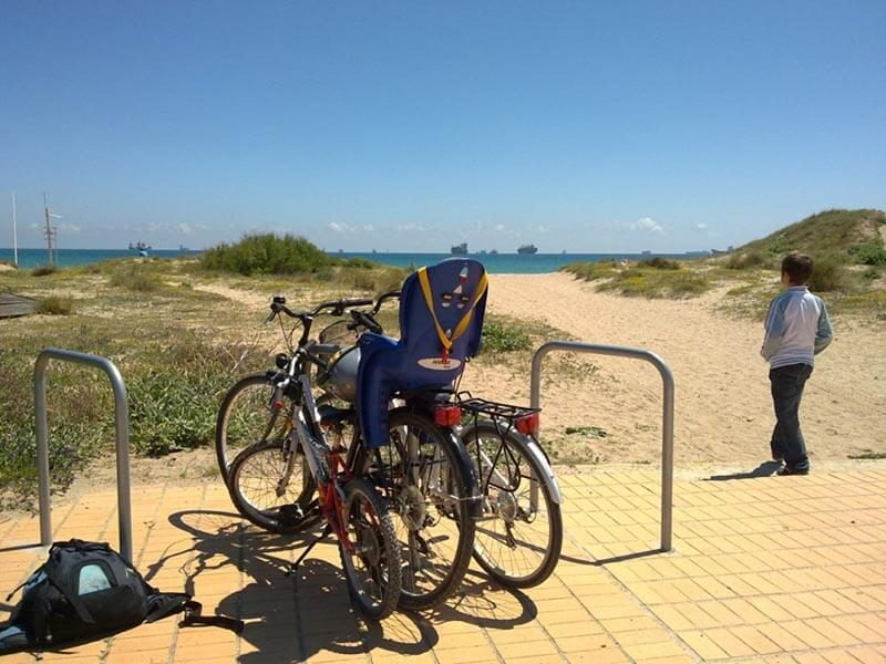 Playa del Saler en bicicleta