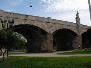 Puente de San Jose - Río Turia en bici