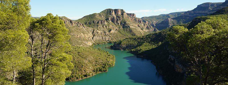 Rutas en bici C.Valenciana - Valle de Cofrentes