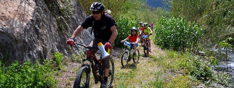 Rutas en bici con niños C.Valenciana - Alto Mijares