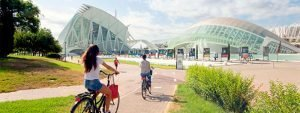 Rutas en bici con niños por Valencia
