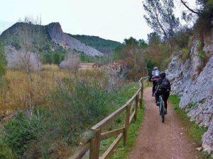 Senda del rio Albaida - Ruta en bici por Xátiva