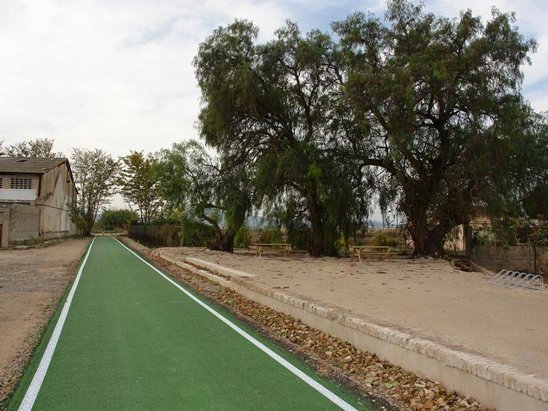 Vía Verde de Llíria - Área de descanso