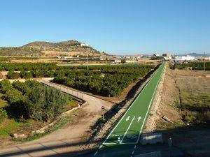 Vía Verde Llíria en bici