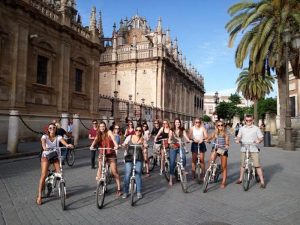 Catedral de Sevilla en bici - Ruta Turística