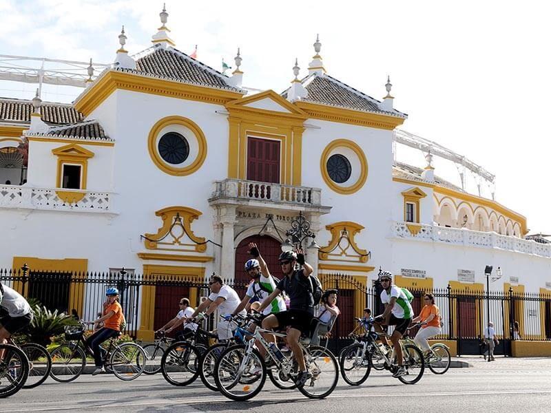 Maestranza de Sevilla en bici - Ruta Turística