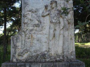 Monumento a la figura del Guarda forestal
