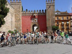 Real Alcázar de Sevilla en bici - Ruta Turística