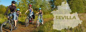 Rutas en bici con niños por Sevilla