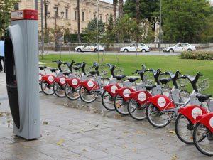 Sericio de Alquiler de bicis en Sevilla