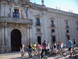 Universidad de Sevilla en bici - Ruta Turística