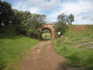 Camino pecuario de la Vía Verde de la Sierra Norte