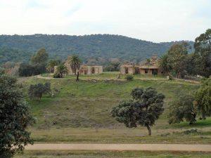 Edificaciones en el cerro del Hierro