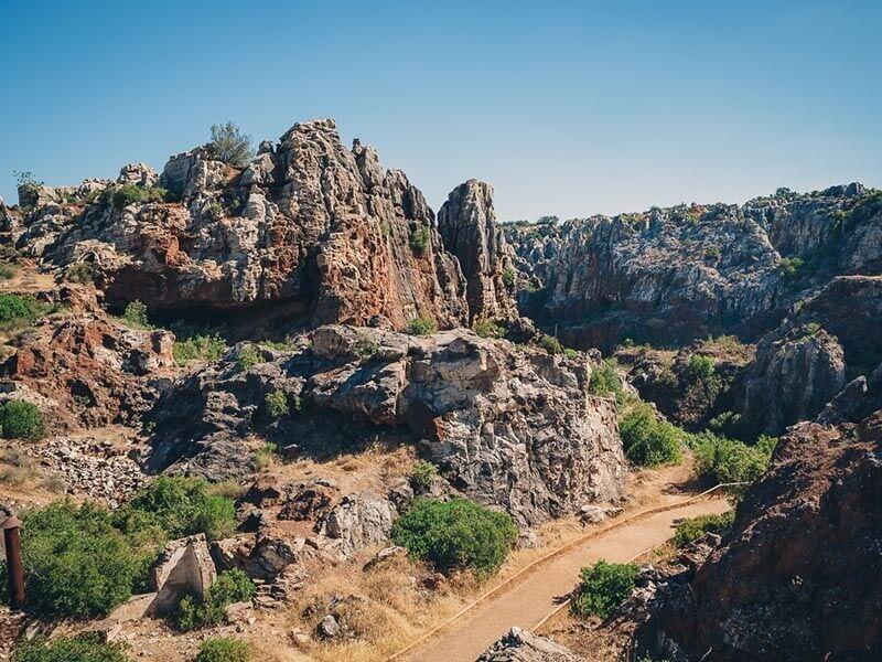Vía Verde de la Sierra Norte de Sevilla - Mina Cerro del Hierro