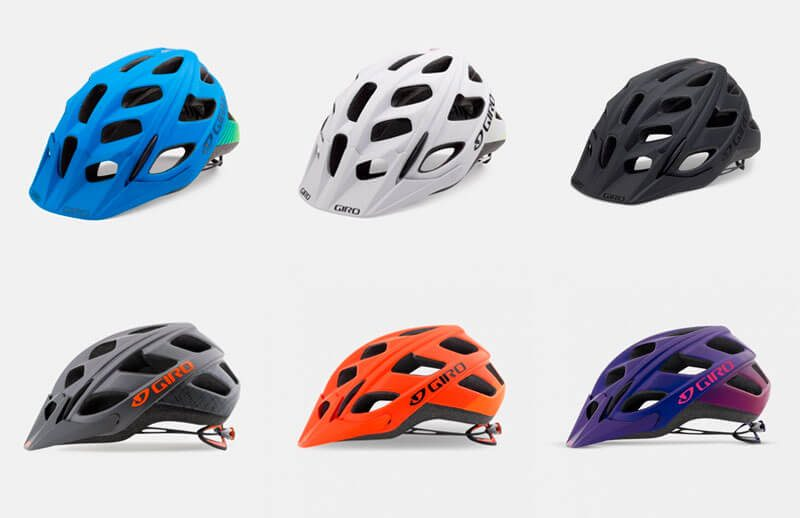 Colores disponibles Casco MTB Giro Hex 2018