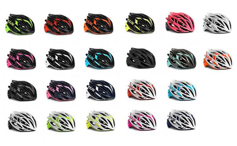 Colores de Cascos MTB disponibles