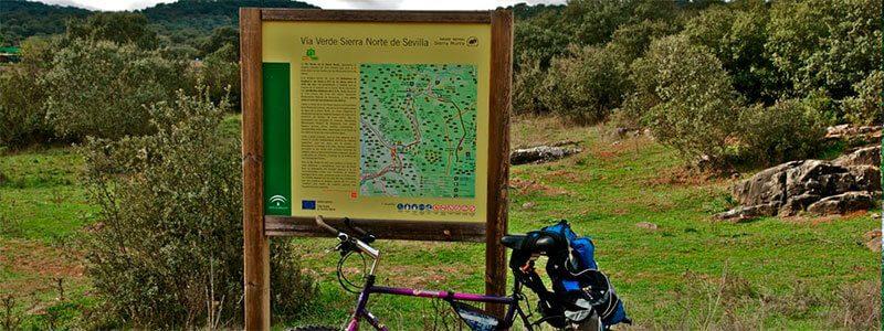 Rutas en bici por la Sierra Norte de Sevilla