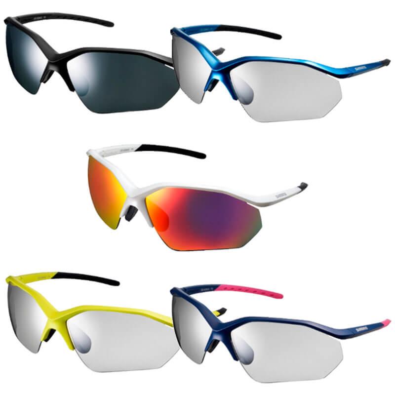 Gama de colores gafas de sol fotocromáticas de shimano