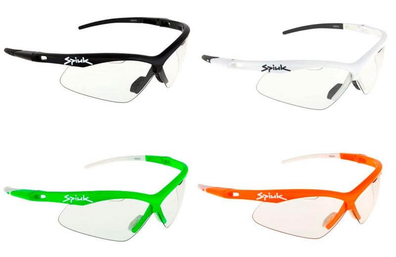 Gama de colores de las gafas fotocromáticas Spiuk Ventix