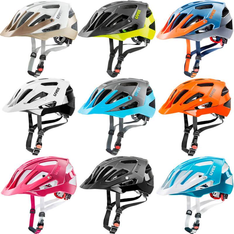 Colores para casco MTB Uvex Quatro 2018