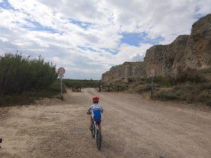 Inicio de la Ruta por el Galacho de Juslibol en Bici