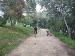 Pista de Tierra - Vuelta al Ebro en Bici