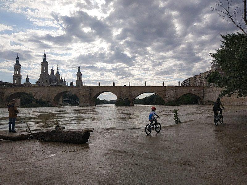Balcón de San Lázaro - Vuelta al Ebro en Bici