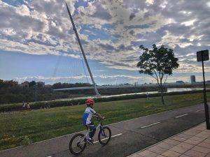 Carril Bici y Pasarela del Voluntariado