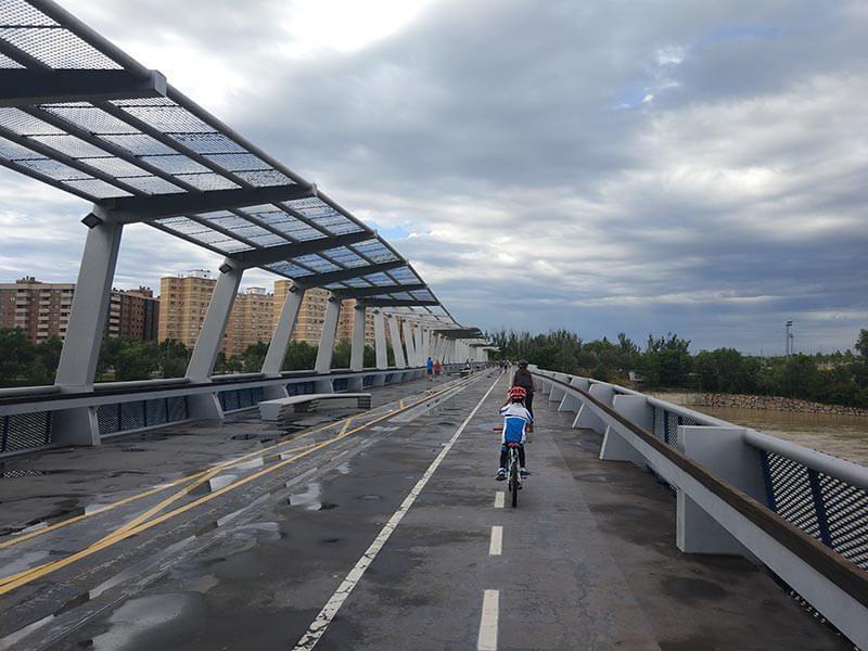 Azud del Ebro - Vuelta al Ebro en Bici