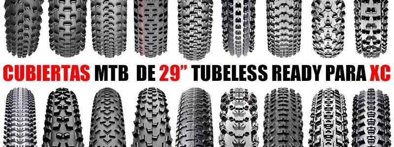 "Cubiertas MTB 29"" Tubeless Ready para XC"