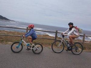 Vistas espectaculares - Carril bici de Bayona