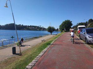 Paseo de Ramallosa - Carril bici de Bayona
