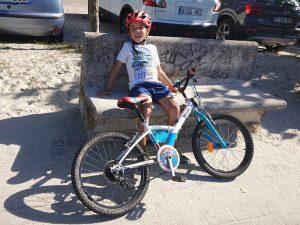 DEscanso del Guerrero - Carril bici de Bayona