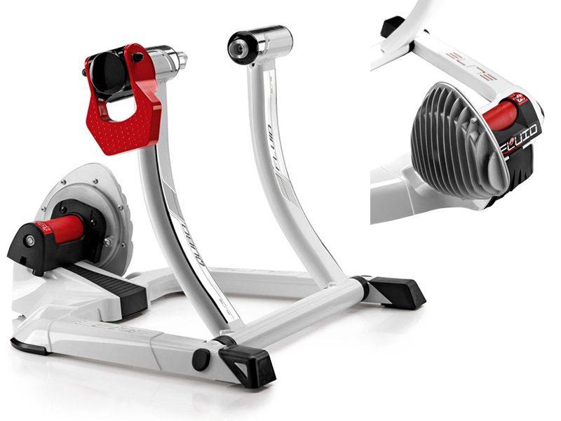 Rodillo para bicicletas fluido Elite Qubo Fluid