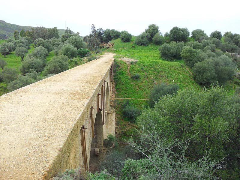 Antiguo puente minero