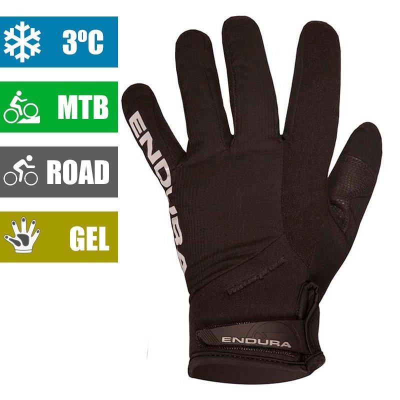 Guantes de ciclismo para invierno Endura Strike II