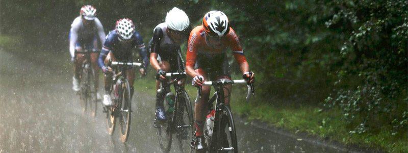 Guantes de ciclismo impermeables para lluvia