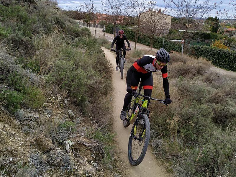 Ruta bici Zaragoza Valpodrida