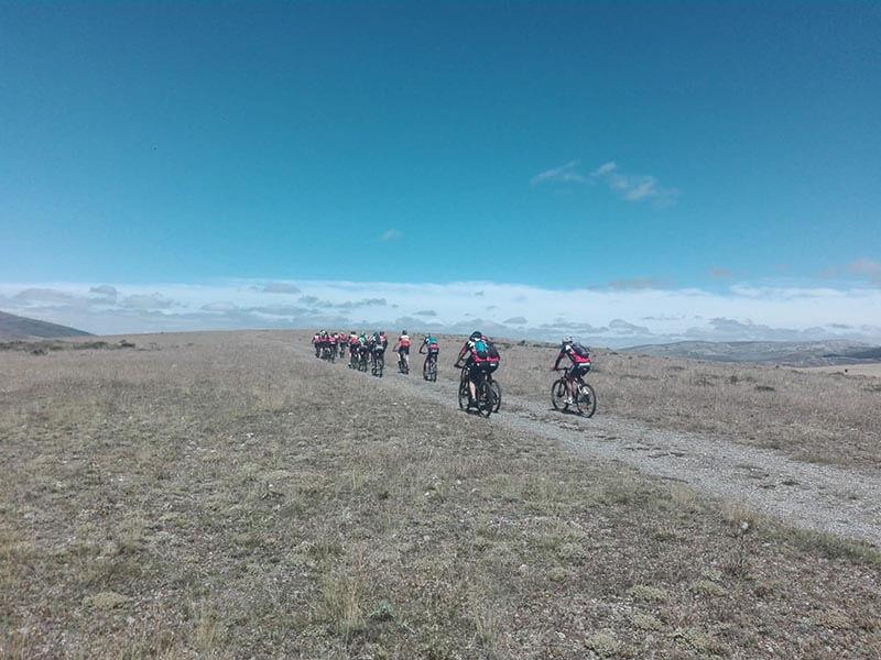 Grupo Ciclistas -Vuelta al Moncayo BTT