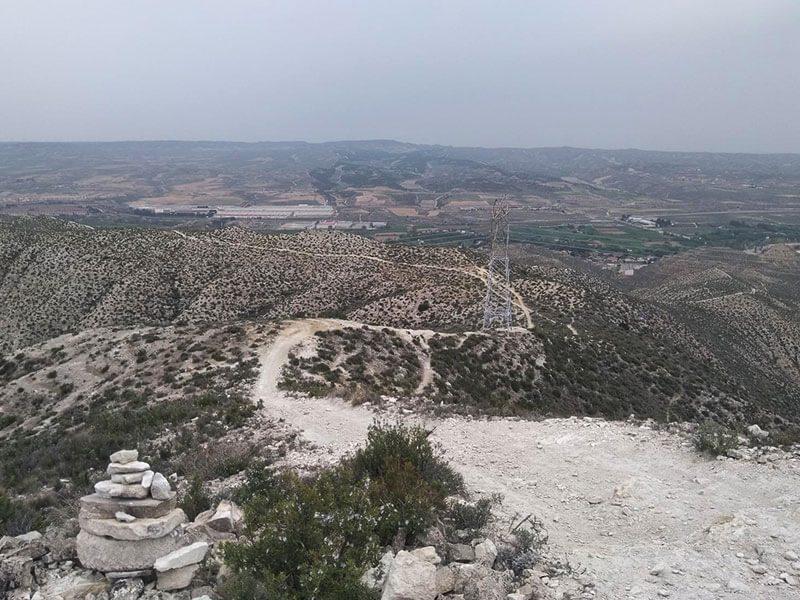 Antenas - Ruta BTT Enduro Zaragoza